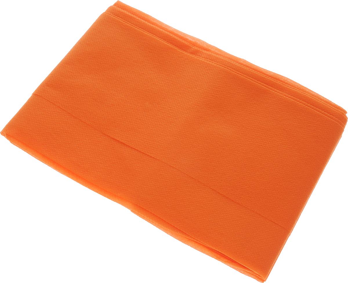 Скатерть LarangE От Шефа. Пикник, одноразовая, цвет: оранжевый, 110 х 140 см625-452_оранжевыйОдноразовая скатерть LarangE изготовлена из спанбонда и предназначена для украшения стола, для проведения пикников и мероприятий в офисе. Нетканный материал препятствует образованию следов от горячей посуды. По техническим характеристикам спанбонд полностью идентичен европейским материалам - долговечный и экологически безопасный, не имеет запаха. Идеальное решение для дома и дачи - удобная, эстетичная, экологичная скатерть.