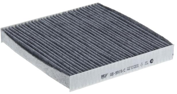Фильтр салона HONDA Accord 2.0-2.4 (03-), CR-V (07-) угольный. BIG FILTER GB9919CGB9919CВашему вниманию предлагается фильтр салона HONDA Accord 2.0-2.4 (03-), CR-V (07-) угольный. BIG FILTER GB9919C.