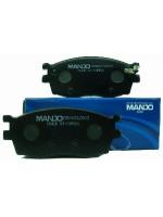 Тормозные колодки дисковые Mando MPK29MPK29Тормозные колодки дисковые к-т Mando. MPK29