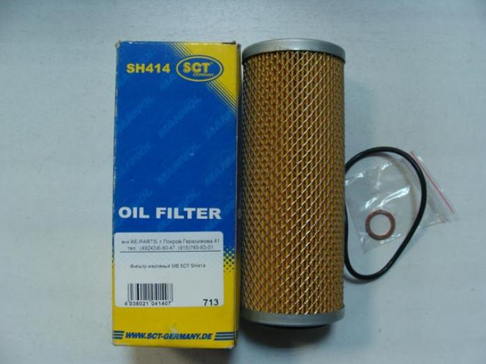 Масляный фильтр SSANG ACTYON I/II 05-/12-/KYRON 05-/10-/REXTON 04-/11-/MB SPRINTER -06/C-CLASS -02SH414