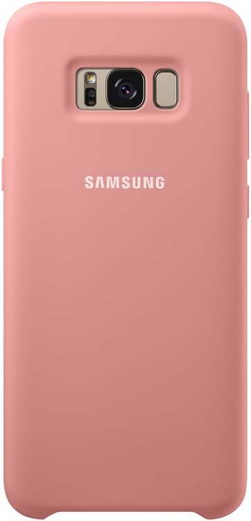 Samsung Silicone Cover чехол для Galaxy S8, PinkEF-PG950TPEGRUБлагодаря плавным линиям Galaxy S8, смартфон уже удобно лежит в руке, а чехол Silicone Cover с мягким, приятным на ощупь софт тач покрытием, только усиливает это ощущение комфорта.Силиконовый чехол с внутренней мягкой подкладкой из микроволокна надёжно защищает корпус смартфона от повреждений.