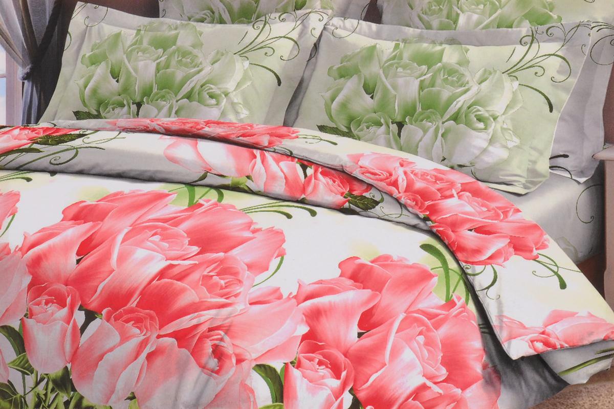 Комплект белья Letto, 2-спальный, наволочки 70х70, цвет: розовый. B15-4B15-4Серия Letto выполнена из классической российской бязи, привычной для большинства российских покупательниц. Ткань плотная (125гр/м), используются современные устойчивые красители и в том числе технология с эффектом 3D. Традиционная российская бязь выгодно отличается от импортных аналогов по цене, при том, что сама ткань и толще, меньше сминается и служит намного дольше. Рекомендуется перед первым использованием постирать, но не пересушивать. Применение кондиционера при стирке сделает такое постельное белье мягче и комфортней. Пододеяльник на молнии. Обращаем внимание, что расцветка наволочек может отличаться от представленной на фото.Советы по выбору постельного белья от блогера Ирины Соковых. Статья OZON Гид