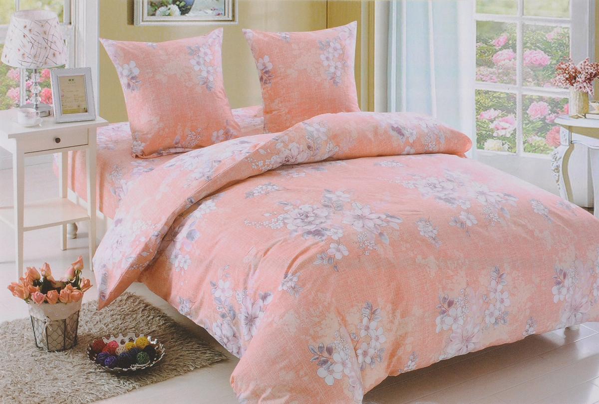 Комплект белья Amore Mio Amelia, 2-спальный, наволочки 70x70, цвет: оранжевый, белый, серый89385Комплект постельного белья Amore Mio Amelia является экологически безопасным для всей семьи, так как выполнен из поплина (100% хлопок). Постельное белье оформлено оригинальным рисунком и имеет изысканный внешний вид.Комплект постельного белья из поплина отличается высоким качеством, практичностью в использовании и выразительностью дизайнов. Кроме практичных качеств, белье красивое и необычайно приятное на ощупь.Советы по выбору постельного белья от блогера Ирины Соковых. Статья OZON Гид