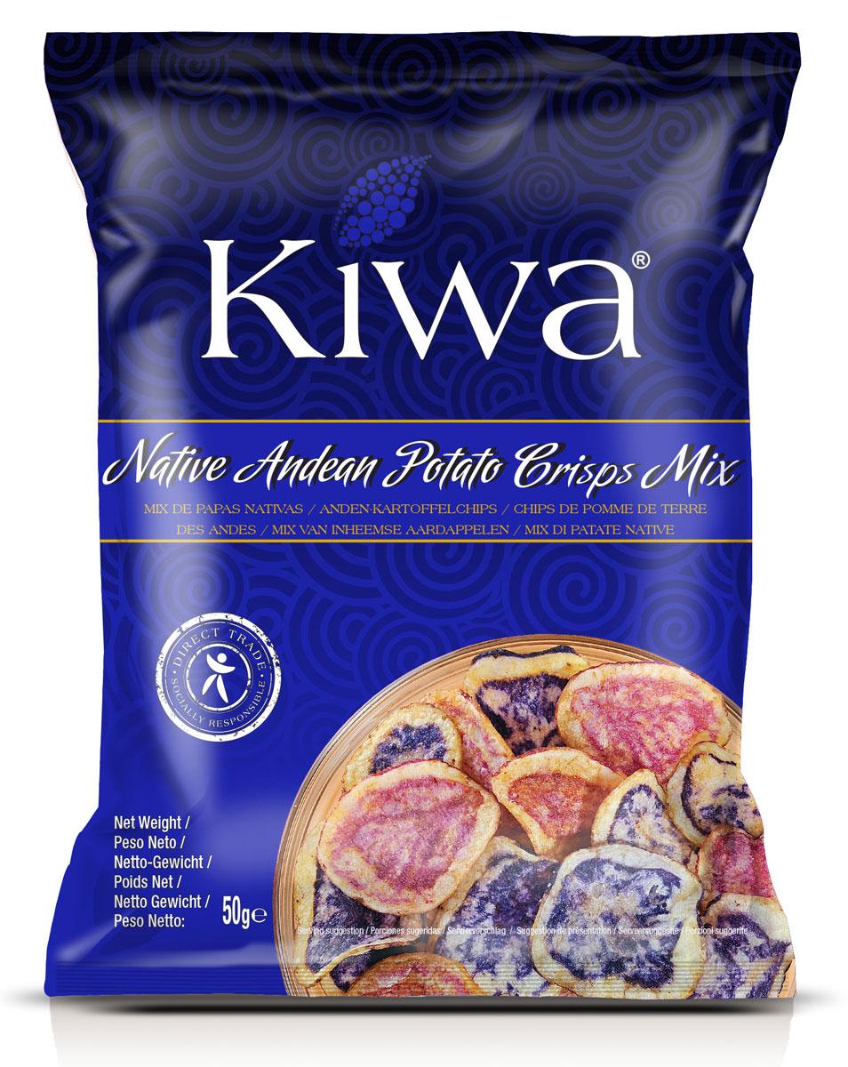 Kiwa Ассорти картофельных чипсов, 50 г недорого