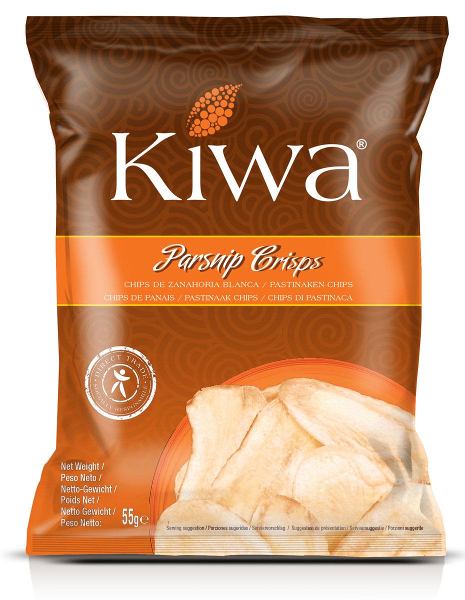 Kiwa Чипсы из корня пастернака, 55 г недорого