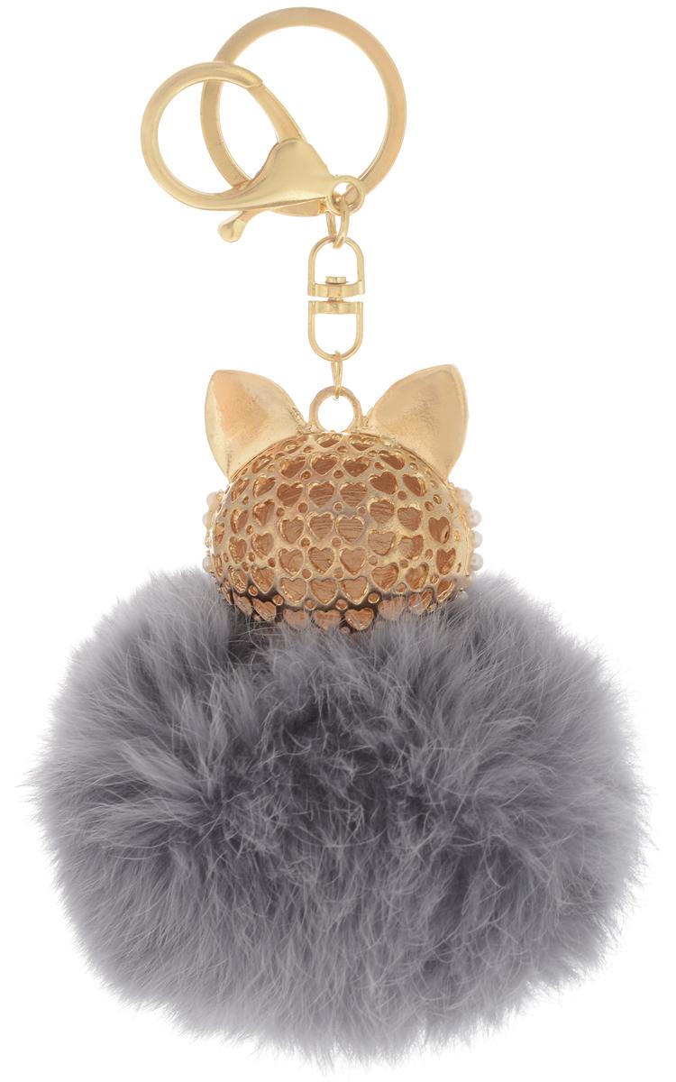 VebtoyБрелок Пушистый котенок цвет серый