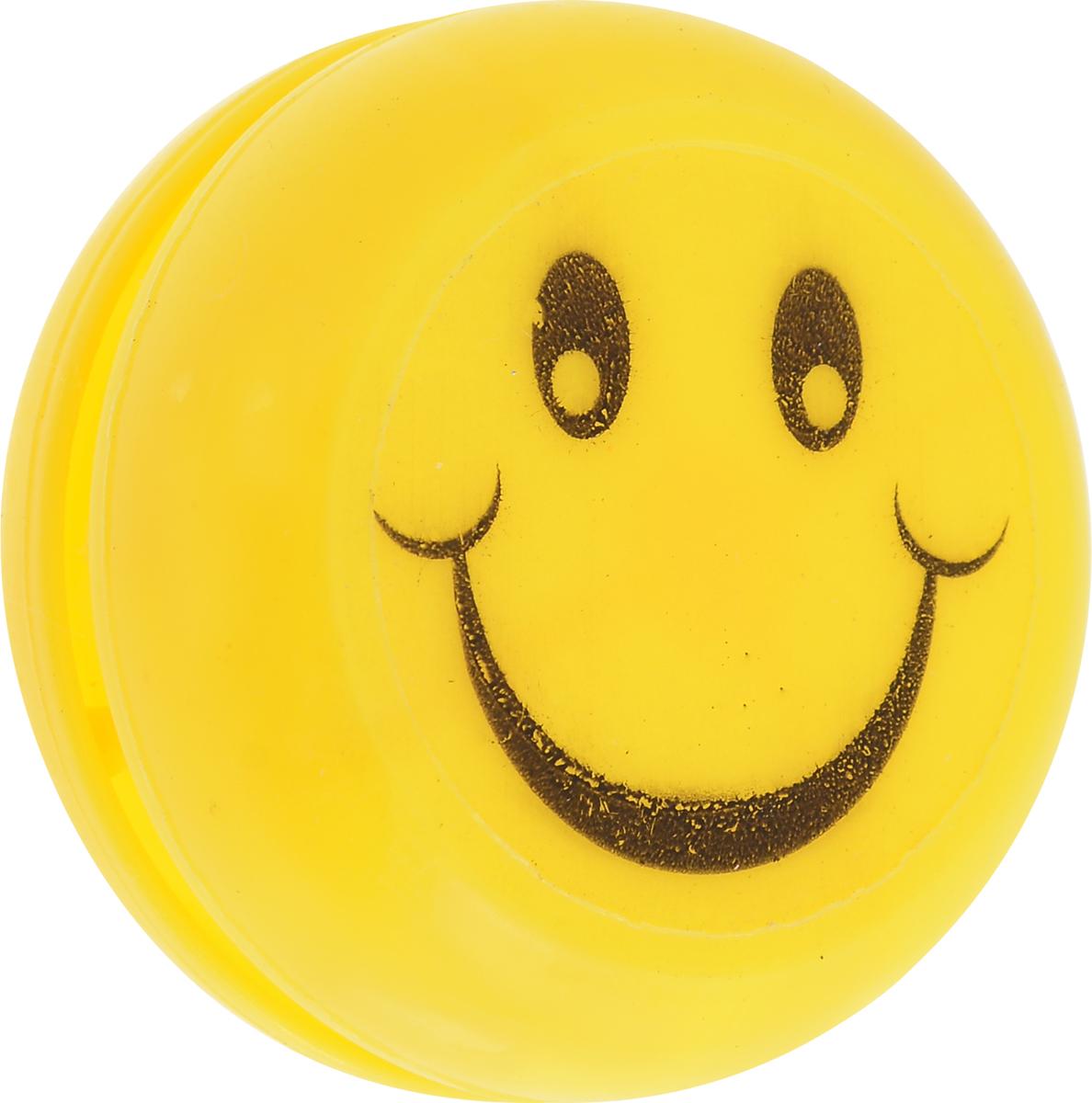Sima-land Йо-йо Смайл цвет желтый игрушка йо йо 1 toy на палец