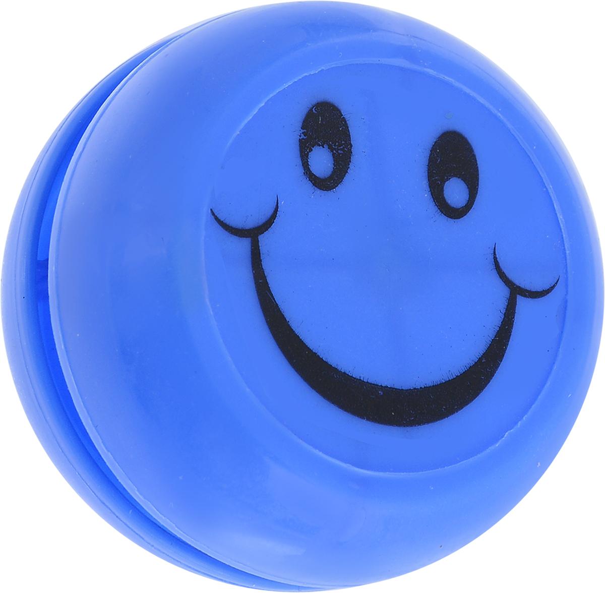 Sima-land Йо-йо Смайл цвет синий игрушка йо йо 1 toy на палец