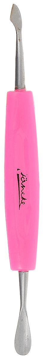 Janeke Инструмент для маникюра, сталь INOX, пластик, цвет: розовый, MP215. инструмент для маникюра janeke пилочка для ногтей стеклянная горошек janeke