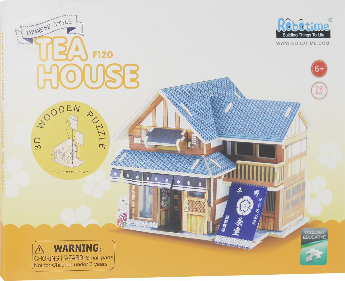 Robotime 3D Пазл Японский чайный домик