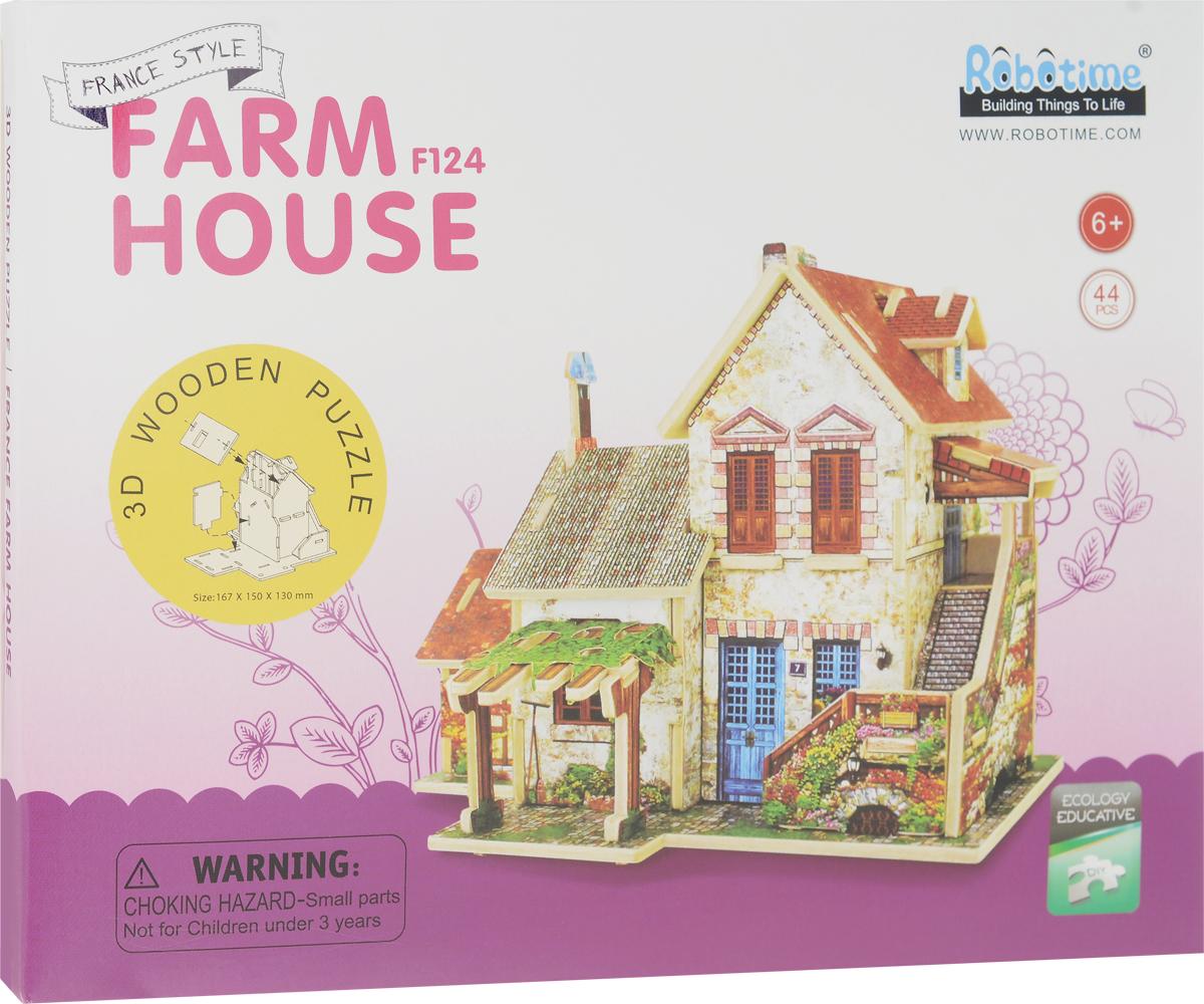 Robotime 3D Пазл Французский фермерский домик