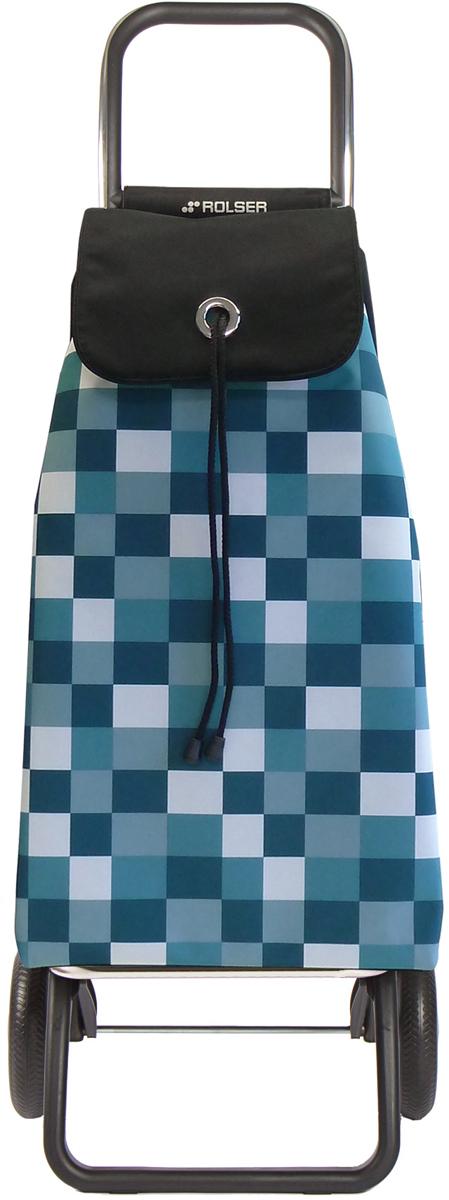 Сумка-тележка Rolser Convert Rg, цвет: зеленый, 43 л. IMX031IMX031 verdeТележка занимает минимальное место при хранении. Эта удобная сумка-тележка пригодится каждой хозяйке. Её мобильность и простота позволит без труда ей пользоваться. При правильном использовании сумка прослужит 10-15 лет, для этого необходимо соблюдать грузоподъемность до 25 кг.Сумка закрывается при помощи шнура, который можно затянуть. Верх защищен клапаном. Есть внутренний карман для мелочей.диаметр колес 16,5см