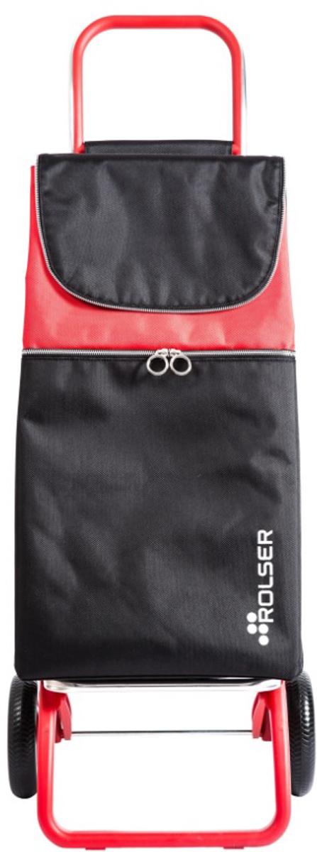 Сумка-тележка Rolser Convert Rg, цвет: красный, 41 л. MTL001MTL001 RojoТележка занимает минимальное место при хранении. Эта удобная сумка-тележка пригодится каждой хозяйке. Её мобильность и простота позволит без труда ей пользоваться. При правильном использовании сумка прослужит 10-15 лет, для этого необходимо соблюдать грузоподъемность до 25 кг.Рама в цвет сумки. Верх защищен клапаном. Есть внутренний карман для мелочей.диаметр колес 16,5см