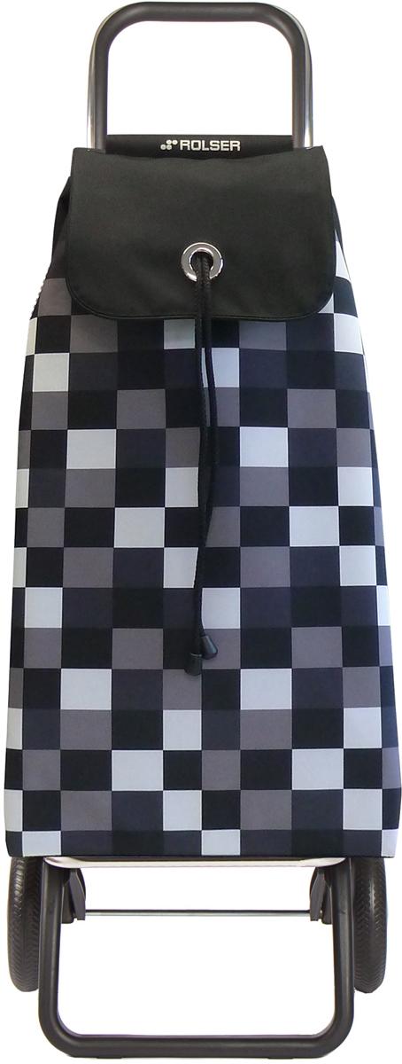 Сумка-тележка Rolser Convert Rg, цвет: черный, белый, 43 л. IMX031IMX031 blancoТележка занимает минимальное место при хранении. Эта удобная сумка-тележка пригодится каждой хозяйке. Её мобильность и простота позволит без труда ей пользоваться. При правильном использовании сумка прослужит 10-15 лет, для этого необходимо соблюдать грузоподъемность до 25 кг.Сумка закрывается при помощи шнура, который можно затянуть. Верх защищен клапаном. Есть внутренний карман для мелочей.диаметр колес 16,5см