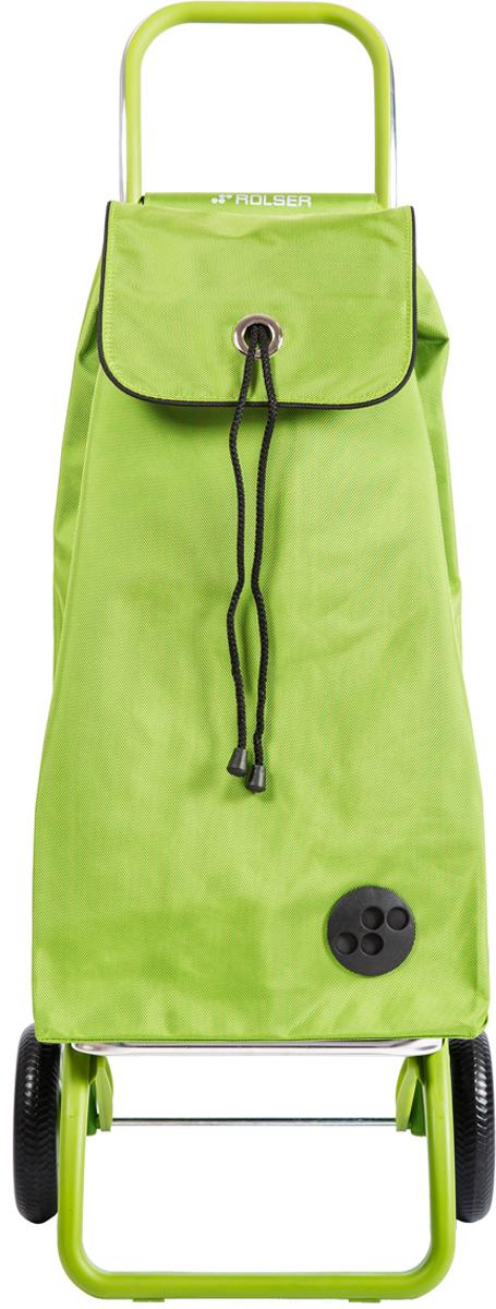Сумка-тележка Rolser Convert Rg, цвет: салатовый, 43 л. IMX072 сумка тележка gimi easy цвет голубой 1518860801001