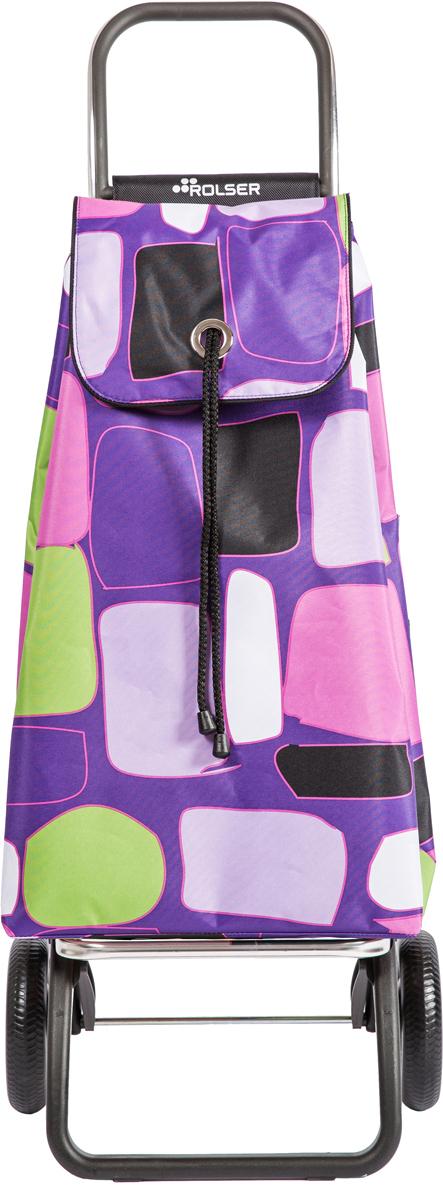 Сумка-тележка Rolser Convert Rg, цвет: фиолетовый, 43 л. IMX080IMX080 MalvaТележка занимает минимальное место при хранении. Эта удобная сумка-тележка пригодится каждой хозяйке. Её мобильность и простота позволит без труда ей пользоваться. При правильном использовании сумка прослужит 10-15 лет, для этого необходимо соблюдать грузоподъемность до 25 кг. Сумка закрывается при помощи шнура, который можно затянуть. Верх защищен клапаном. Есть внутренний карман для мелочей.диаметр колес 16,5см