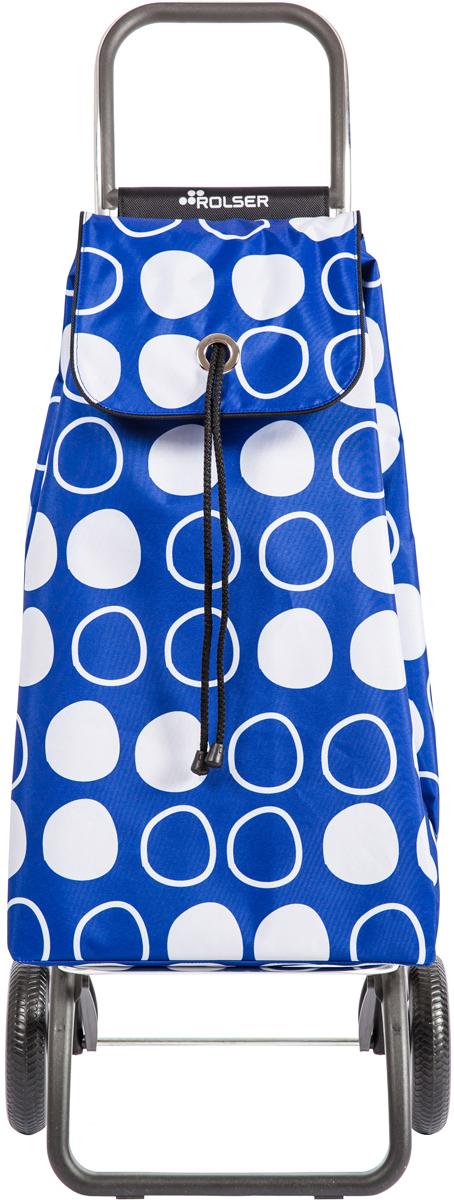 Сумка-тележка Rolser Convert Rg, цвет: синий, 43 л. IMX086IMX086 AzulТележка занимает минимальное место при хранении. Эта удобная сумка-тележка пригодится каждой хозяйке. Её мобильность и простота позволит без труда ей пользоваться. При правильном использовании сумка прослужит 10-15 лет, для этого необходимо соблюдать грузоподъемность до 25 кг.Сумка закрывается при помощи шнура, который можно затянуть. Верх защищен клапаном. Есть внутренний карман для мелочей.диаметр колес 16,5см