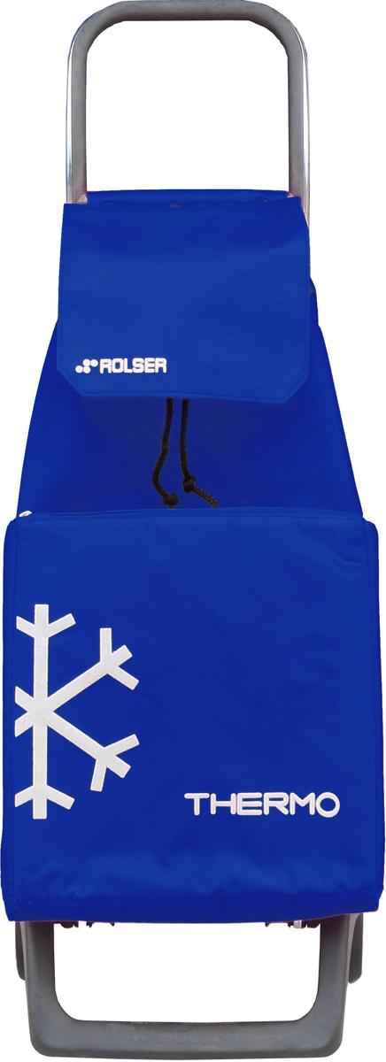 Тележка занимает минимальное место в сложенном виде при хранении. Эта удобная сумка-тележка пригодится каждой хозяйке. Её мобильность и простота позволит без труда ей пользоваться. Вместительная модель c термо-сумкой для пикников. C такой сумкой продукты долго будут сохранять свою температуру. Теплое останется теплым на долгое время, а то, что хотелось бы охладить жарким летом – обязательно остынет! Сумка закрывается при помощи шнура, который можно затянуть. Верх защищен клапаном. Есть внутренний карман для мелочей.диаметр колес: 13,2см