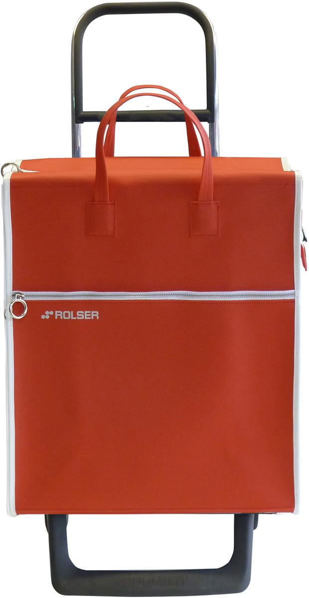 Сумка-тележка Rolser Joy-1800, цвет: красный, 36 л. MNL001MNL001 rojoТележка занимает минимальное место при хранении. Эта удобная сумка-тележка пригодится каждой хозяйке. Её мобильность и простота позволит без труда ей пользоваться. При правильном использовании сумка прослужит 10-15 лет, для этого необходимо соблюдать грузоподъемность до 25 кг.Сумка закрывается на молнию. Есть внешний карман на молнии.диаметр колес 13,2см