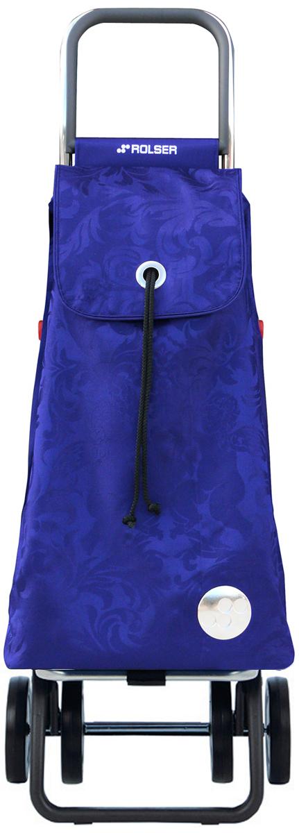 Сумка-тележка Rolser Dos+2, цвет: синий, 48 л. PAC035 тележка стелла кп 2 200 и