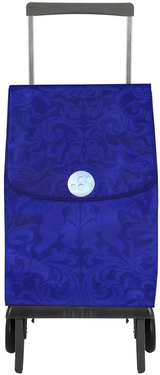 Сумка-тележка Rolser Plegable, цвет: синий, 42 л. PLE055PLE055 azulЛегкая мобильная конструкция на 2-х колесах в два движения трансформируется из тележки в простую сумку, которую можно нести в одной руке. Сумка закрывается на липучку. Есть внутренний карман для мелочей.в сложенном виде можно носить на плече. диаметр колес: 11,5см