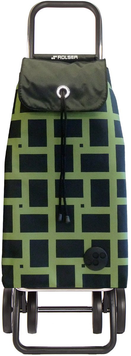 Сумка-тележка Rolser Logic Dos+2, цвет: зеленый, 43 л. IMX029IMX029 verdeДва типа сложения: двойное сложение рамы и сложение передней подставки. Тележка занимает минимальное место в сложенном виде при хранении, также имеет специальное устройство для прикрепления к тележке супермаркета. Эта удобная сумка-тележка пригодится каждой хозяйке. Сумка закрывается при помощи шнура, который можно затянуть. Верх защищен клапаном. Есть внутренний карман для мелочей.диаметр колес 14см