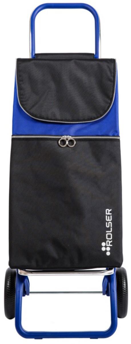 Сумка-тележка Rolser Convert Rg, цвет: синий, 41 л. MTL001MTL001 AzulТележка занимает минимальное место при хранении. Эта удобная сумка-тележка пригодится каждой хозяйке. Её мобильность и простота позволит без труда ей пользоваться. При правильном использовании сумка прослужит 10-15 лет, для этого необходимо соблюдать грузоподъемность до 25 кг. Рама в цвет сумки. Верх защищен клапаном. Есть внутренний карман для мелочей.диаметр колес 16,5см