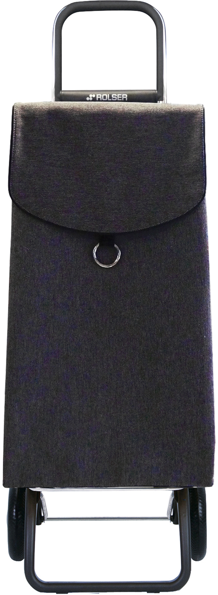 """Сумка-тележка Rolser """"Convert Rg"""" выполнена из полиэстера, алюминия и резины. Тележка занимает минимальное место при хранении. Эта удобная сумка-тележка пригодится каждой хозяйке. Её мобильность и простота позволит без труда ей пользоваться. Верх защищен клапаном. Есть внутренний карман для мелочей. Диаметр колес: 16,5 см."""