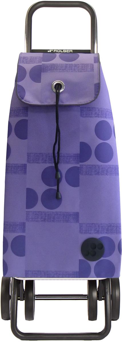Сумка-тележка Rolser Dos+2, цвет: фиолетовый, 43 л. IMX044 сумка тележка gimi easy цвет голубой 1518860801001