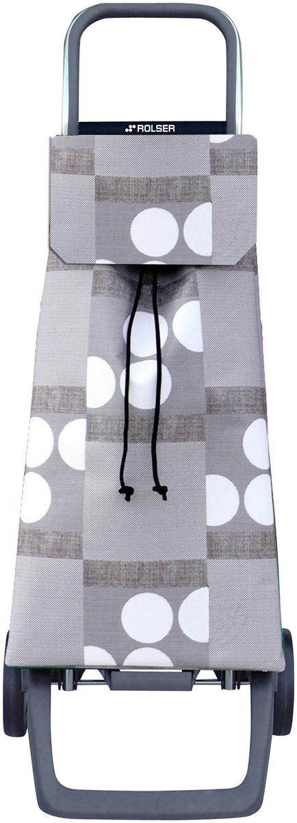 Сумка-тележка Rolser Joy, цвет: серый, 40 л. JET008 сумка тележка rolser logic rg цвет синий 41 л pep004