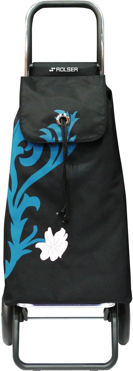 Сумка-тележка Rolser Logic Rg, цвет: бирюзовый, черный, 43 л. IMX010 сумка тележка rolser logic rg цвет синий 41 л pep004