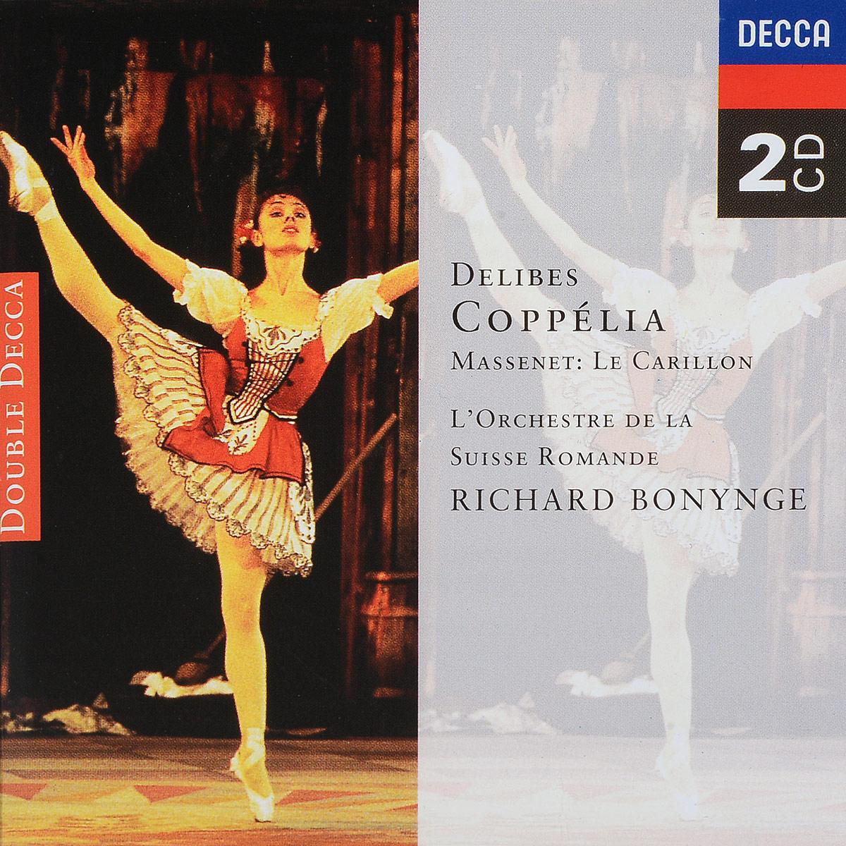 Delibes / Massenet. L'Orchestre De La Suisse Romande, Richard Bonynge. Coppelia / Le Carillon (2 CD) le tartuffe cd