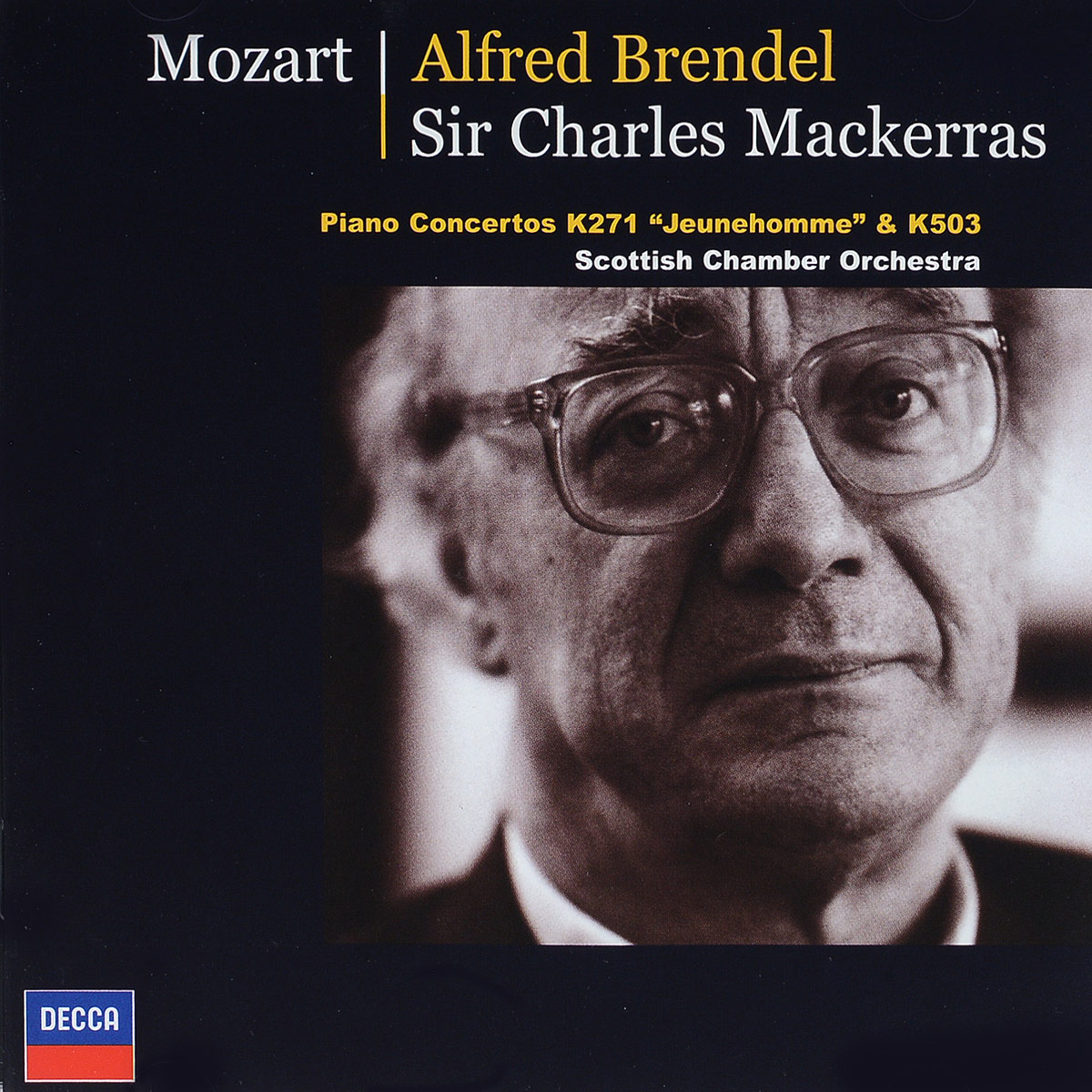 Alfred Brendel. Mozart: Piano Concertos K.271 Jeunehomme & K.503 cd диск perahia murray mozart w a the piano concertos 12 cd