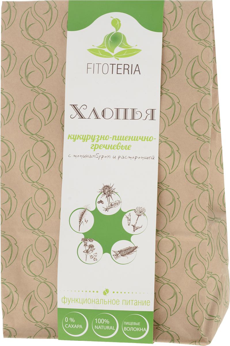 Fitoteria хлопья кукурузно-пшенично-гречневые, 200 г