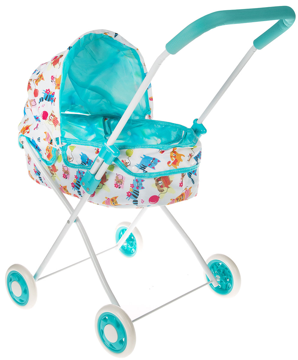 Mary Poppins Коляска-люлька для кукол Фантазия цвет голубой белый mary poppins одежда для кукол комплект море