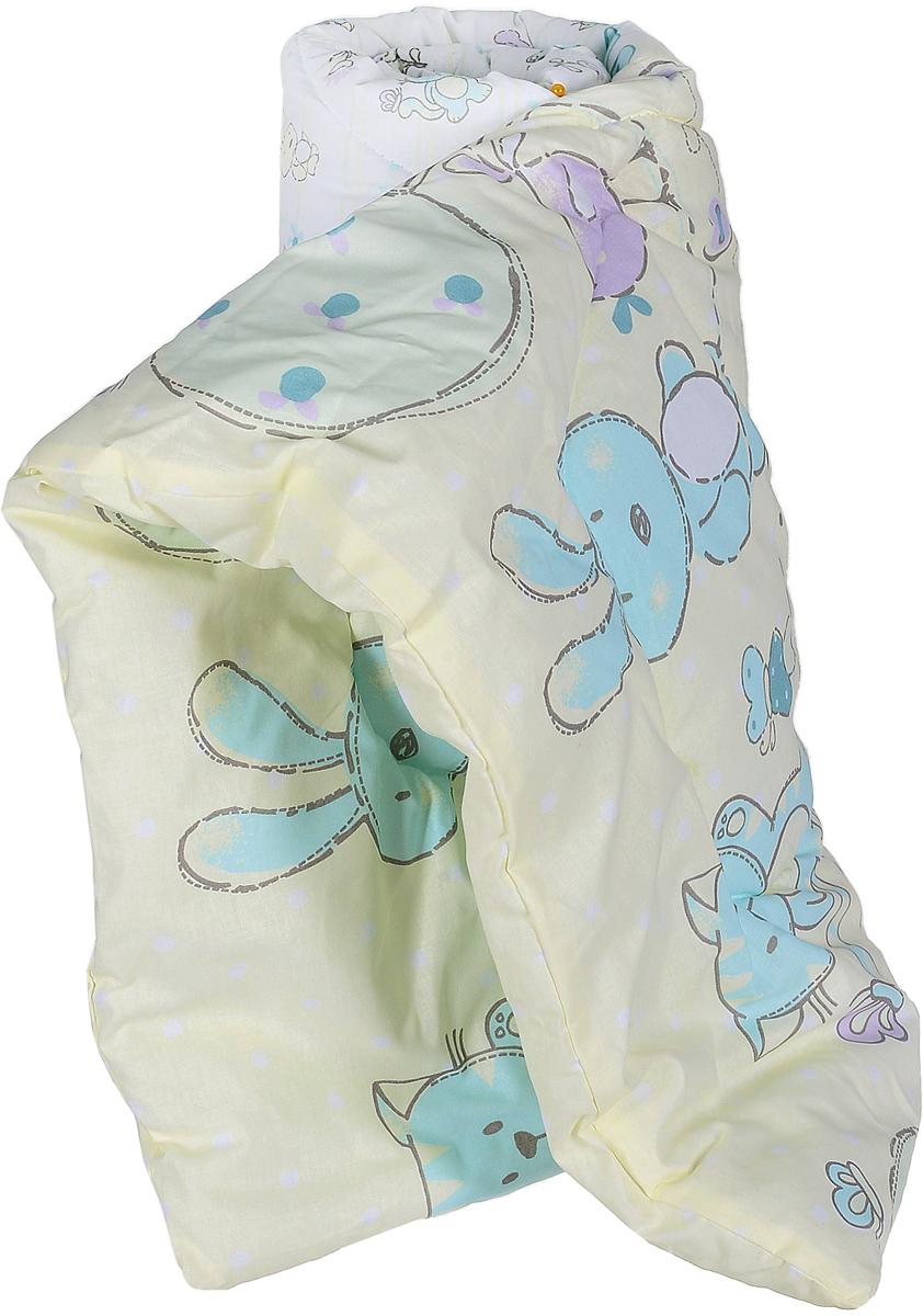 Сонный гномик Одеяло детское стеганое совы