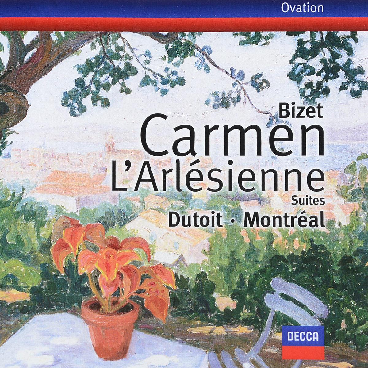 Orchestre Symphonique de Montreal; Dutoit, Charles - Bizet: Carmen Suites 1 & 2; L'Arlesienne Suites 1 bizet bizet carmen 3 lp