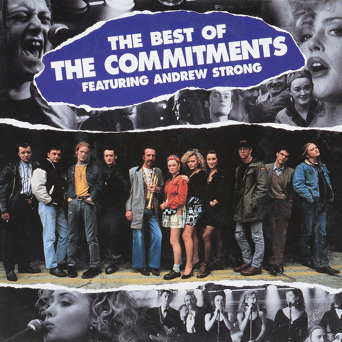 Фото - THE COMMITMENTS. THE BEST OF THE C лонгслив the kravets the kravets mp002xw194rv