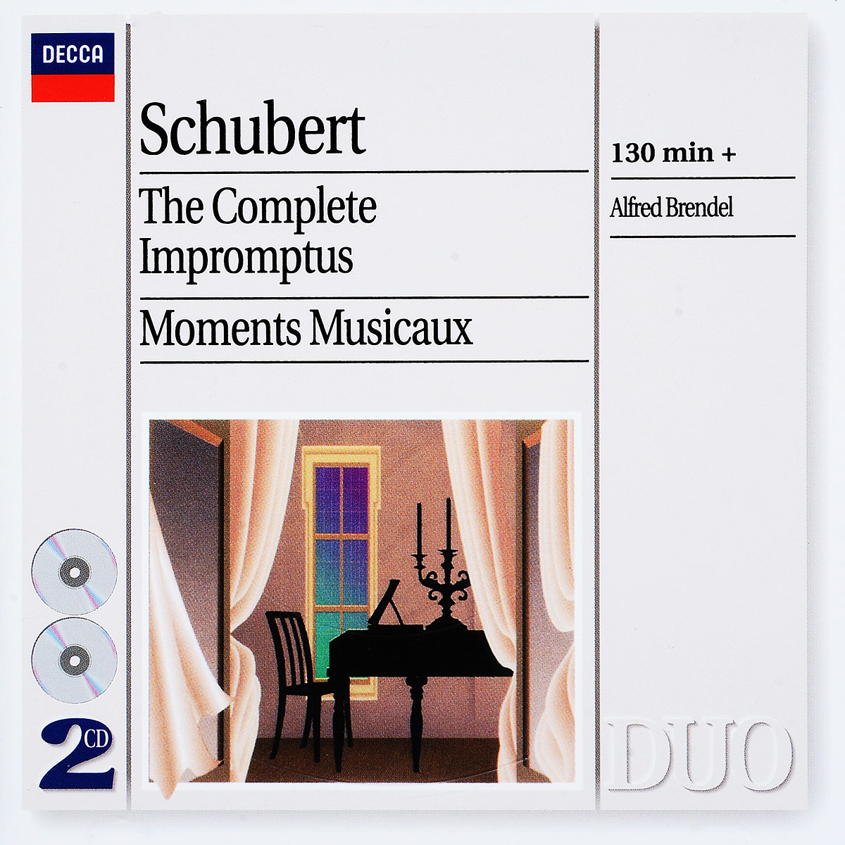 Schubert. Alfred Brendel. The Complete Impromptus - Moments Musicaux (2 CD) цена