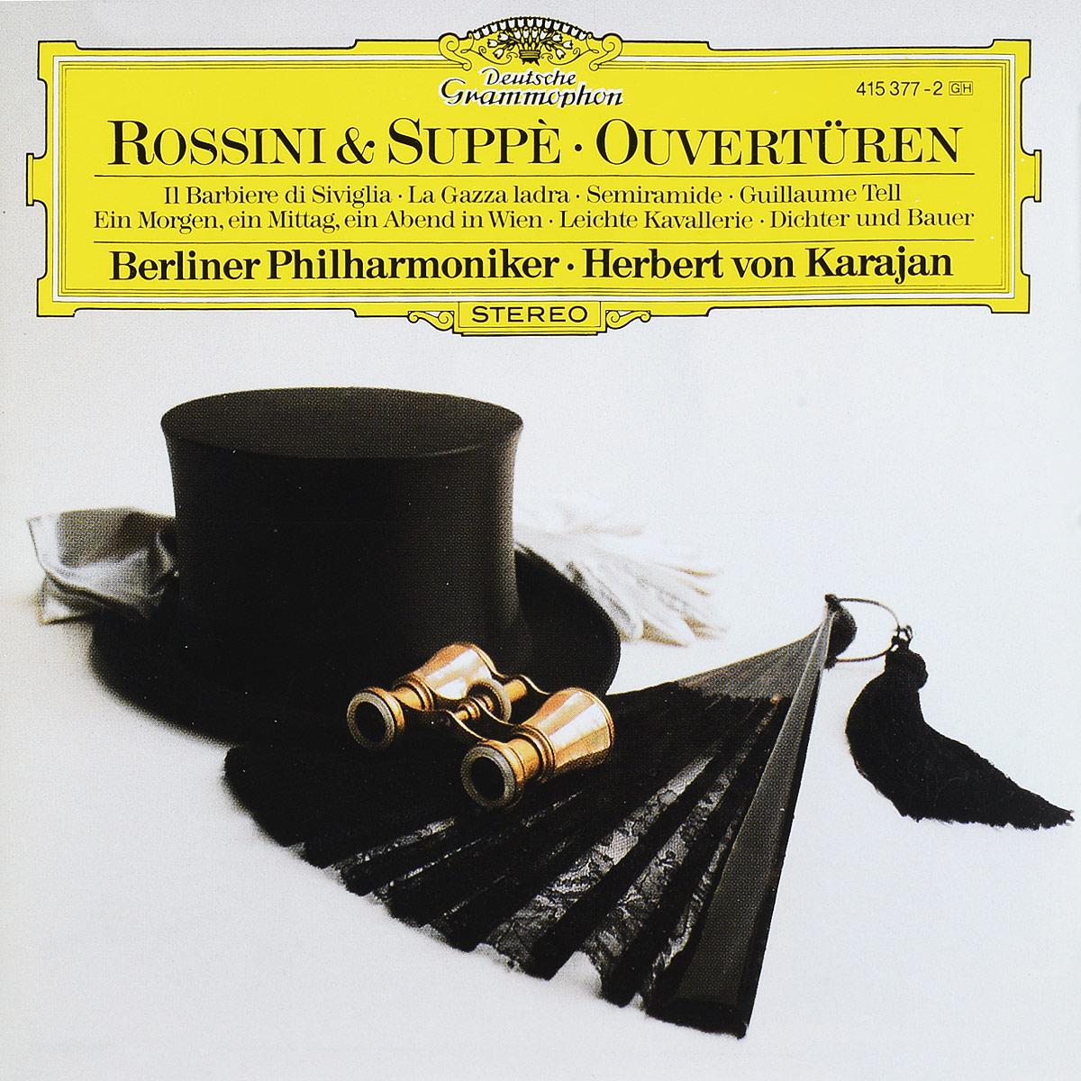 Herbert von Karajan. Rossini. Suppe: Overtures bruckner herbert von karajan symphonies 8