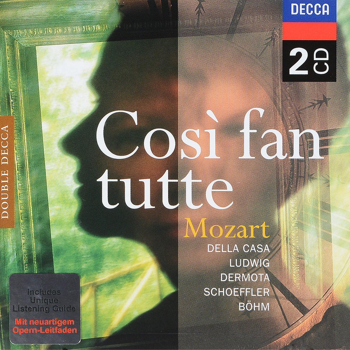 Karl Boehm. Mozart: Cosi Fan Tutte (2 CD) karl bohm mozart sinfonie concertanti