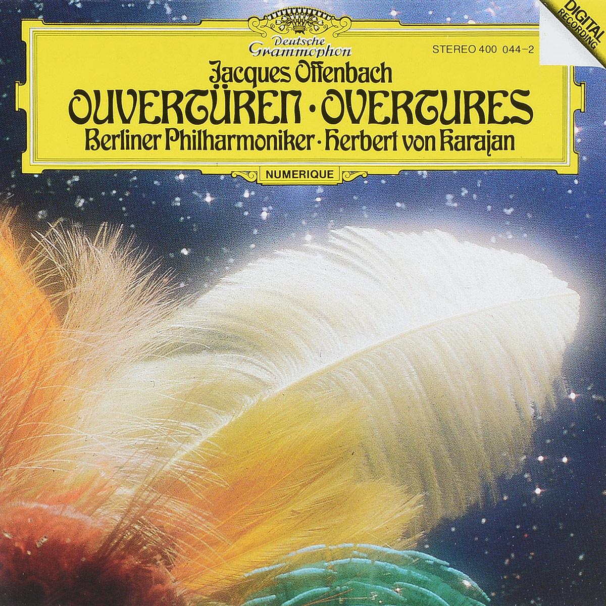 Herbert von Karajan. Offenbach: Overtures bruckner herbert von karajan symphonies 8