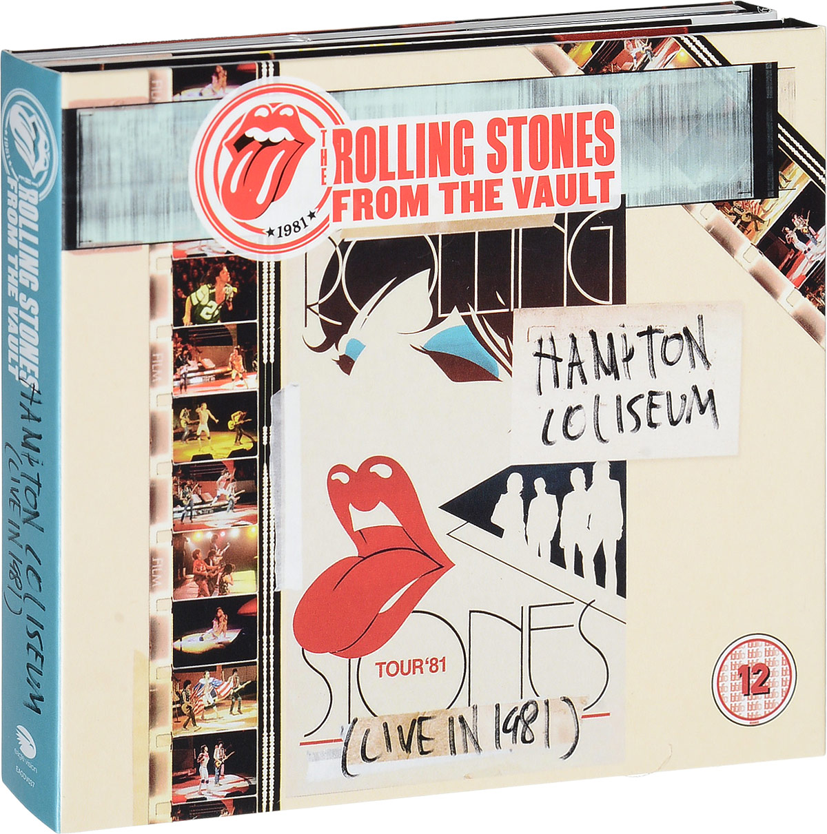 Rolling Stones: From The Vault: Hamiton Coliseum: Live In 1981 (DVD + 2 CD) van der graaf generator van der graaf generator live in concert at metropolis studios london 2 cd dvd