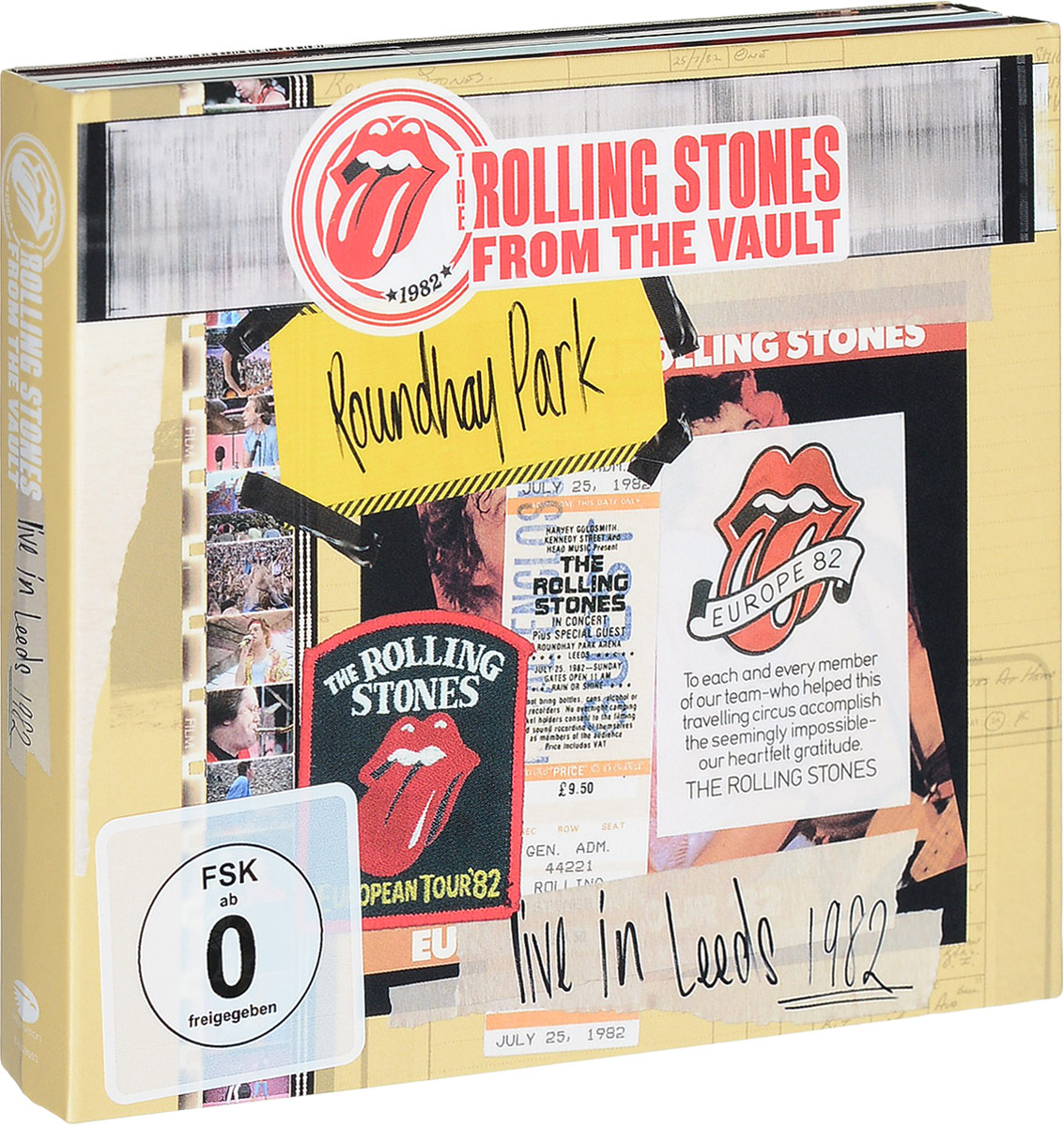 Rolling Stones: The From The Vault: Live In Leeds 1982 (DVD + 2 CD) the vamps leeds