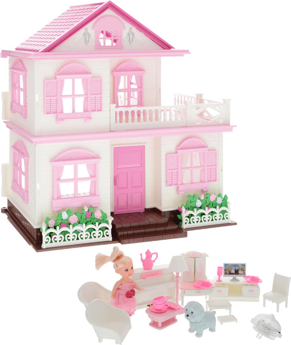 Mary Poppins Дом для Мэгги с куклой необычная мебель столик стул кошка
