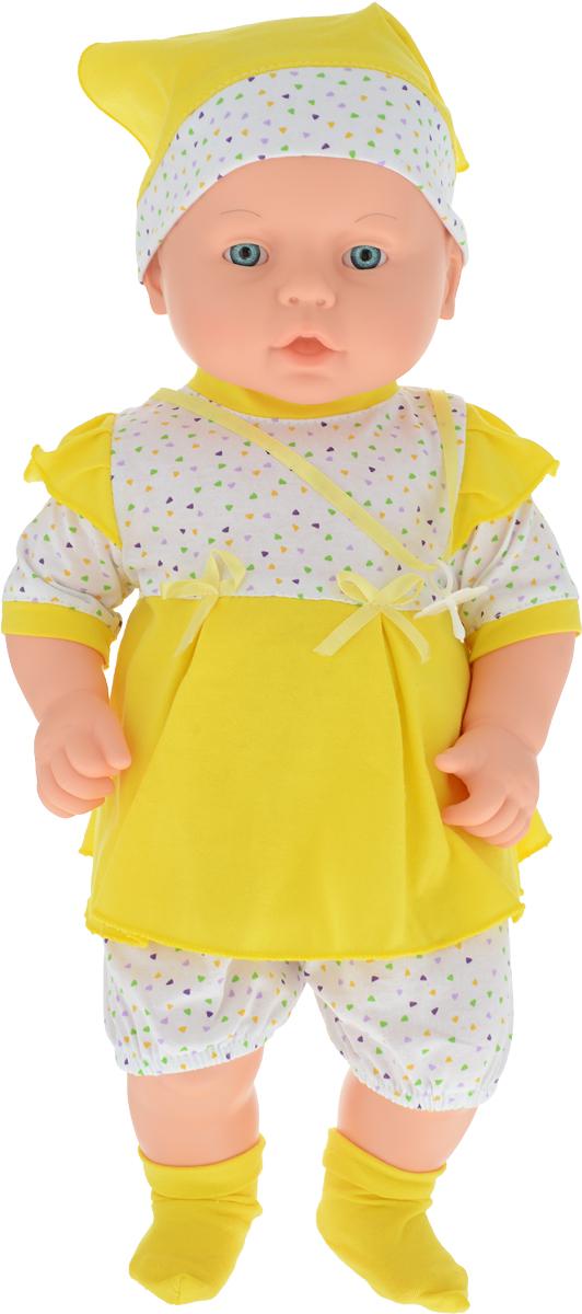 Весна Пупс Влада цвет одежды желтый весна кукла влада в2413