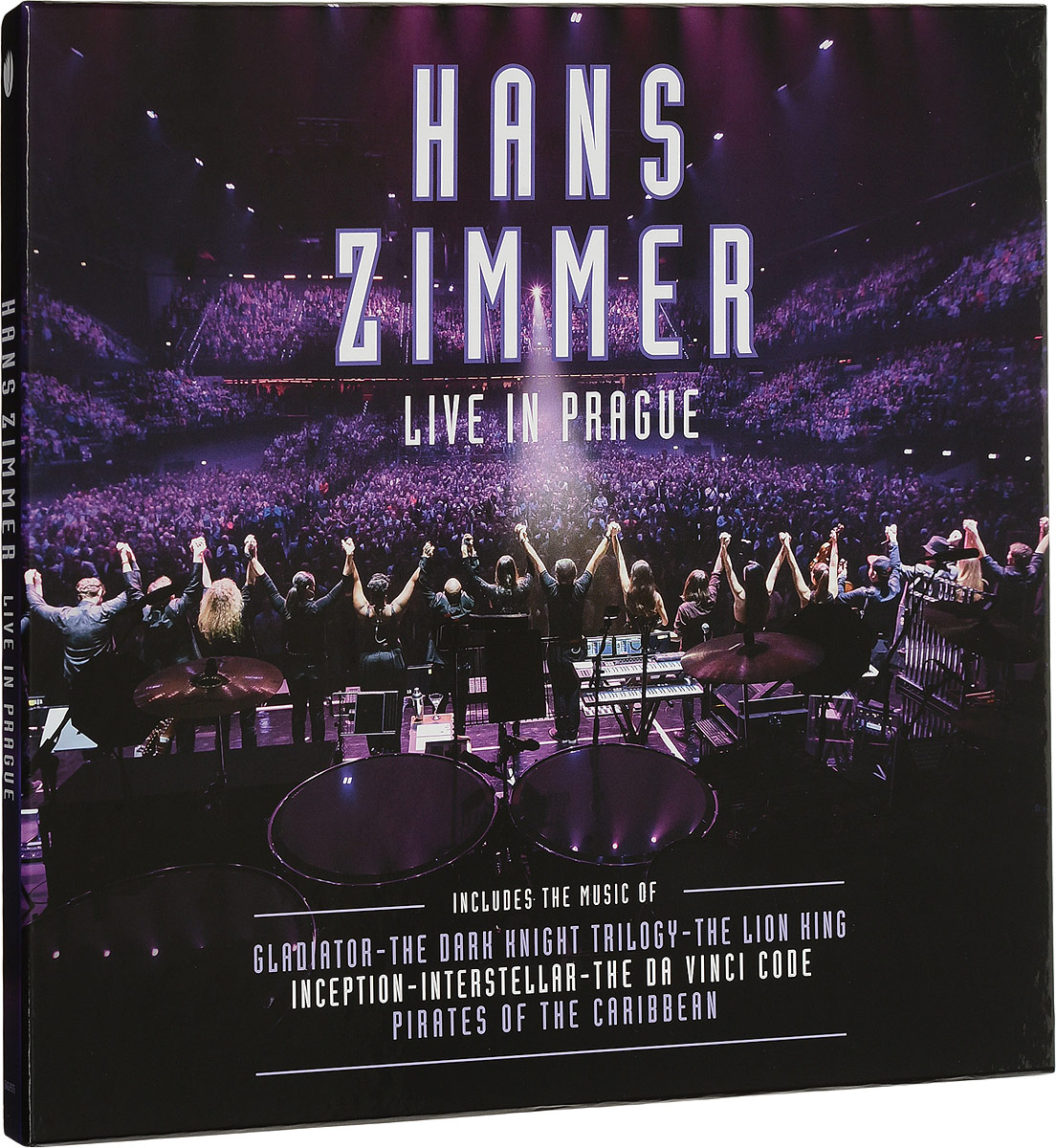 Hans Zimmer. Live In Prague (4 LP)