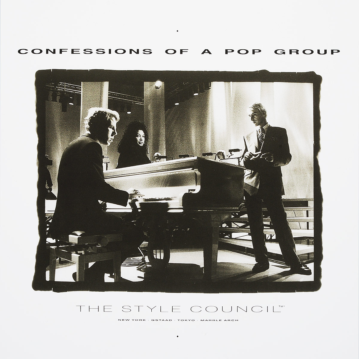 The Style Council The Style Council. Confessions Of A Pop Group (LP) confessions of a murder suspect