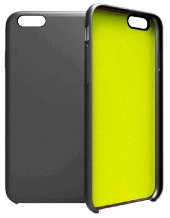 Gear4 SoftCase IC6022 чехол для iPhone 6/6s, Black GreenIC6022Gear4 SoftCase - полезный аксессуар, который надежно защищает ваш Apple iPhone 6/6s от внешних воздействий, грязи, пыли, брызг. Также Gear4 SoftCase поможет при ударах и падениях, смягчая удары, не позволяя образовываться на корпусе царапинам и потертостям. Кроме того, он будет незаменим при длительной транспортировке устройства.