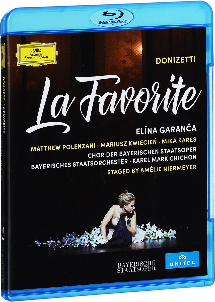 DVD 1: Donizetti: La Favorite.1. Opening.2. Prelude.Act One:№1 Introduction - Choeur, romance et duo.3. Pieux Monastere (chaeur, Fernand, Balthazar).4. Un ange, une femme inconnue (Fernand, Balthazar).5. Toi, mon fils, ma seule esperance (Fernand, Balthazar).№2 Air et choeur.6. Rayons dores (Ines, chaeur).№3 Air avec choeur.7. Silence! Doux zephyr (Ines, chaeur).№4 Recitatif et duo.8. Gentille messagere (Fernand, Ines).9 Mon idole! Dieu t'envoie (Leonor, Fernand, Ines).№5 Recitatif et air.10 Celui qui vient la chercher (Fernand, Ines).11. Oui, ta voix m'inspire (Fernand).Act Two:№6 Entr'acte, recitatif et air.12. Jardins de l'Alcazar (Alphonse, Don Gaspar).13. Leonor, viens (Alphonse).№7 Duo.14. Pour la fete, previens toute ma cour (Alphonse, Leonor, Ines).15. Quand j'ai quitte le chateau de mon pere (Leonor, Alphonse).№8 Airs le danses.16. Introduction - Pas de six - Final.№9 Final.17. Ah! Sire! (Don Gaspar, Alphonse, Leonor, Balthazar, chaeur).18. Redoutez la fureur d'un Dieu terrible et sage (Balthazar, Leonor, Alphonse, Don Gaspar, chaeur, Ines).DVD 2.Act Three:№10 Prelude, recitatif et trio.1. Me voici donc pres d'elle! (Fernand, Don Gaspar, Alphonse, Leonor).2. Pour tant d'amour (Alphonse, Fernand, Leonor).№11 Recitatif et air.3. L'ai-je bien entendu?... O mon Fernand (Leonor).№12 Recitatif et choeur.4. Ines, viens (Leonor, Ines, Don Gaspar).5. Defa dans la chapelle (chaeur, Fernand, Alphonse, Don Gaspar, Leonor).№13 Final.6. Quel marche de bassesse (Don Gaspar, chaeur).7. Pour moi du Ciel la faveur se deploie (Fernand, Don Gaspar, chaeur, Balthazar, Leonor, Alphonse).8. O Ciel! de son ame la noble fierte (Alphonse, Don Gaspar, Balthazar, chaeur, Fernand, Leonor).Act Four:9. Prelude.№14. Choeur, recitatif et romance.10. Freres... Creusons l'asile (chauer, Balthazar).11. Dans un instant, on frere (Balthazar, Fernand).12. Ange si pur (Fernand).№15 Final.13. Es-tu pret? (Balthazar, Fernand, Leonor, chaeur).14. Va-t'en d'ici! (Fernand, Leonor, chaeur, Balthazar).1